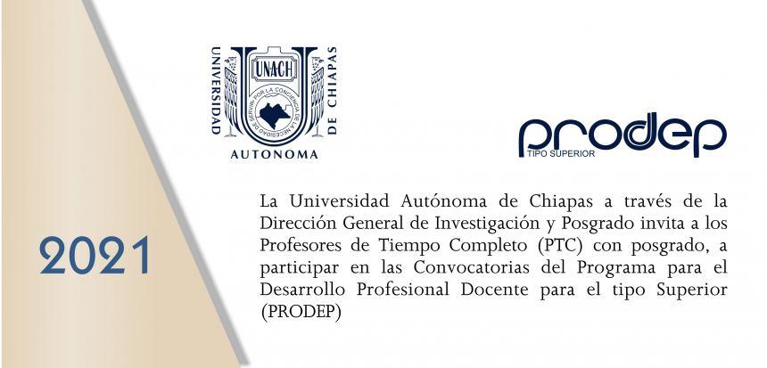 INVITACIÓN PTC CON POSGRADO, A PREPARARSE PARA PARTICIPAR EN LA CONVOCATORIA PRODEP